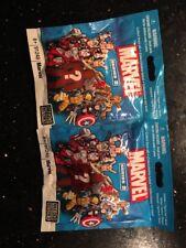 2x 91248 Mega Bloks: Marvel Series 2 Lot Of 2 Figure Blind NEW SEALED