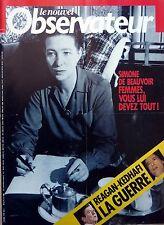 Mag rare 1986: SIMONE DE BEAUVOIR_JAMES BROWN_JEAN GENET