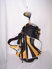 "MAXFLI REV 1 STAND/ CARRY Junior Jr. Golf ⛳️ BAG 22"" Yellow Black Driver Putter"