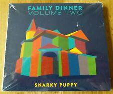 Snarky Puppy-  Family Dinner Volume Two Digi Pack CD Album + DVD Bonus Videos...