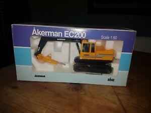 Joal  Akerman EC200 Excavator with Hydraulic Hammer 1:50 model