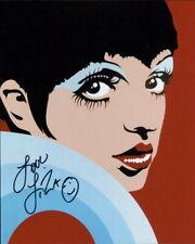 Liza Minnelli signed in-person 8x10 photo COA