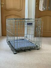 Savic Dog Residence Carrier & Crate with Cushion  61cm x 46cm x 52 cm