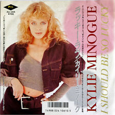 """Kylie Minogue, I Should Be So Lucky, NEW/MINT Japanese import 7"""" vinyl single"""