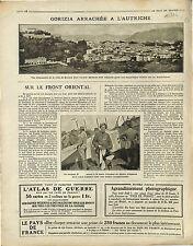 Panorama Gorizia Goritz Gorice Friuli-Venezia Giulia  Friaul-Julisch  1916 WWI