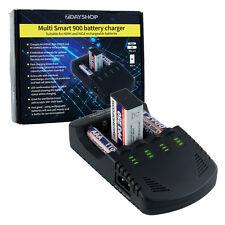 LED Inteligente Pro Series AA AAA y 9 V Rápido Cargador De Batería nueva inteligencia 900
