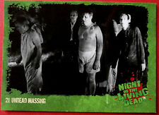 NIGHT OF THE LIVING DEAD - 1968 film - Card #21 - Undead Massing - Unstoppable