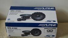 Alpine SPS-610C 2-Way 6.5in. Car Speakers System