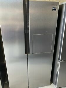 Not Used Samsung SRS603HLS 603lt Side By Side Fridge Freezer With Insta Door