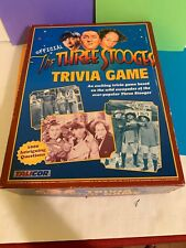 Three Stooges Trivia Official Classic Game by Talicor Vintage New Open Box