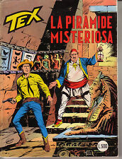 Tex 228 - La piramide misteriosa - L. 500 di copertina
