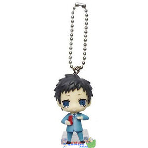 Durarara Mascot Swing Anime PVC Keychain SD Figure ~ Mikado Ryugamine @82918