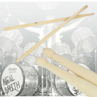 1 Pair Personalised  Maple Wood Drum Sticks Drumsticks 5A Music Band Jazz Rock