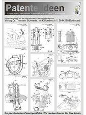 Audi NSU Auto Union patentierte Technik auf 1900 Seiten