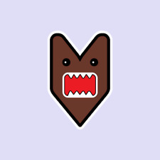 JDM Domo Logo car Honda Mitsubishi Toyota Subaru Decal Sticker