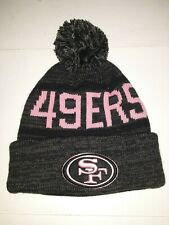 San Francisco 49ers NFL '47 Pink Cuff Knit Hat With Pom
