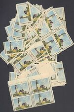 {Bj Stamps} #1391 Maine Statehood, Lighthouse. Mnh 6 Cents Stamp. 100 stamps.