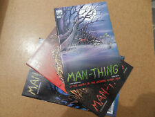 Man-Thing 1 - 3 . Lot Complet . Marvel 2004 . VF - minus