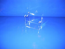 traditional pistol revolver gun stand support in clear acrylic  model showing