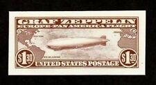 USPS INTAGLIO PRINT OF SCOTT C14 - 1930 GRAF ZEPPELIN $1.30  FREE SHIPPING