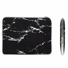 "13-Inch Black Marble Zipper Sleeve Bag for 13"" Macbook/ Air / Pro / Chromebook"