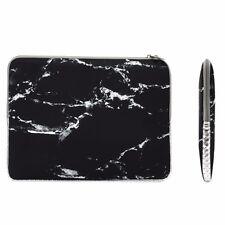"11-Inch Black Marble Zipper Sleeve Bag for 11"" Macbook Air/ Ultrabook/Chromebook"