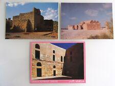Postkarten Lot JORDAN Jordanien 3 x Postcard QASR AL KHARANA, AZRAQ, AMRA, color