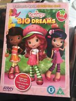 DVD:STRAWBERRY SHORTCAKE - BIG DREAM - TRIPLE DVD SET - NEW Region 2 UK