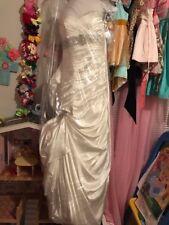 Maggie Sottero, wedding dress, size 8, ivory, preowned, bride, Adorae