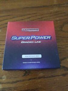 KastKing SuperPower Braided Fishing Line - Abrasion Resistant 327 yards 20 lb