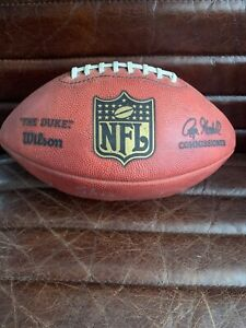 """Terry Bradshaw Signed Official NFL """"The Duke"""" Football - Brand New - Wilson"""