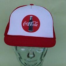 Vintage Coca-Cola Snapback Cap, Coke Mesh Truckers Hat