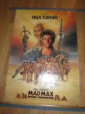 MAD MAX BEYOND THUNDERDOME Soundtrack  poster Tina Turner Mel Gibson