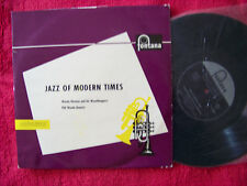 Jazz of Modern Times Woody Herman + Phil Woods Quartet 10 inch Fontana LP