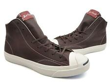 NEW Converse Jack Purcell Jack Mid Tumbled Leather Burnt 151968C US Mens 8.5