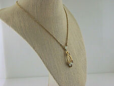 """GIVENCHY NECKLACE EARRING SET NECKLACE 16-19 1/2""""  EARRING 1"""""""