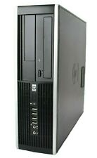 HP Elite SFF Small Desktop Computer Core 2 DUO 3GHz 4GB 250GB Windows 10 PRO