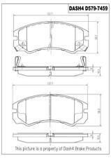 Dash 4 Brake CD579 Front Ceramic Brake Pads