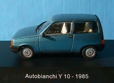 AUTOBIANCHI Y10 DE 1985 STARLINE # 509121 ITALIA 1/43 MACCHINA BLUE GREEN METAL