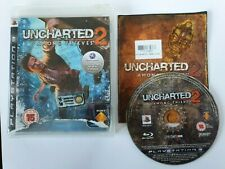 Uncharted 2: Among Thieves Sony Playstation PS3 Game (2013) With Manual