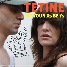 TETINE - Let Your Xs Be Ys - CD ALBUM  PROMO CARDSLEEVE 15 Titres 2008