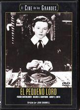 EL PEQUEÑO LORD de John Cromwell. España tarifa plana envíos DVD, 5 €