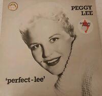 PEGGY LEE ~ PERFECT-LEE  LP ~ VINYL EXCELLENT  ~ MCL1794