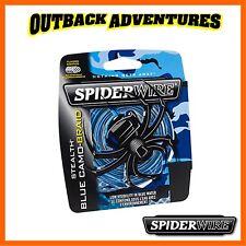 Spiderwire Stealth Blue Camo Braid 150m 20lb