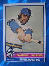 1976 Topps Baseball Card #645 Darrell Porter; Milwaukee Brewers; NM-MT