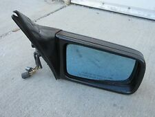 1993 Mercedes 300SE Sedan Right Passenger Side Door Power Mirror Black OEM