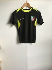 Kooga Leicester Tigers Rugby Men's Pro T-Shirt - Large - Black - New