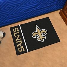 "New Orleans Saints Uniform Inspired 19"" X 30"" Starter Area Rug Floor Mat"