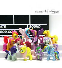 My Little Pony 12 pcs Action Figures Cake Toppers Set of Girl Toy Decorations