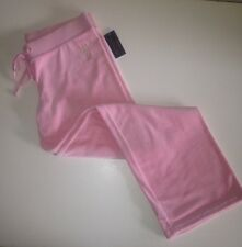 Juicy Couture Original Petal Pink JC Basic Velour Track Pants Sz.XL